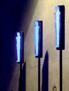 Bronze Lichtskulpturen