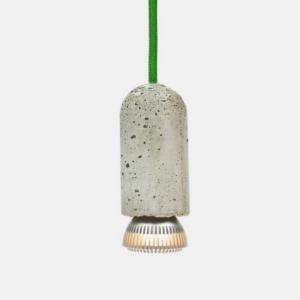 Lampenfassung aus Beton
