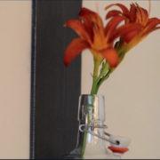 Detail Design Blumenampel