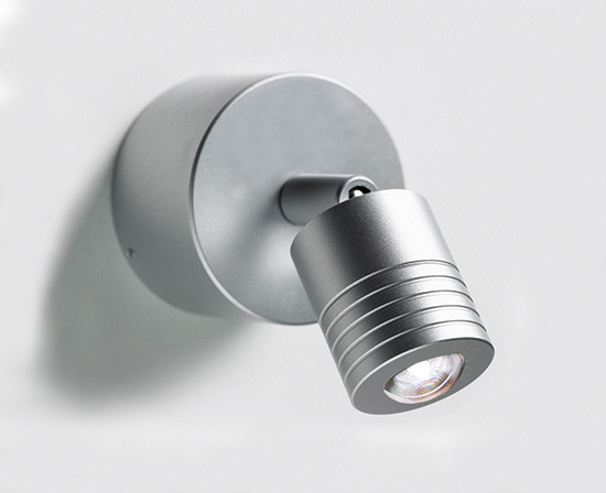 kleiner wandspot mit schalter ist die perfekte beleuchtung von arbeitsfl chen. Black Bedroom Furniture Sets. Home Design Ideas